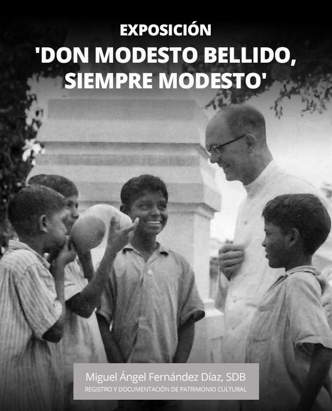 EXPOSICIÓN: Don Modesto Bellido, siempre modesto