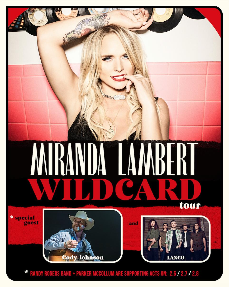 Miranda Lambert 2020 Tour