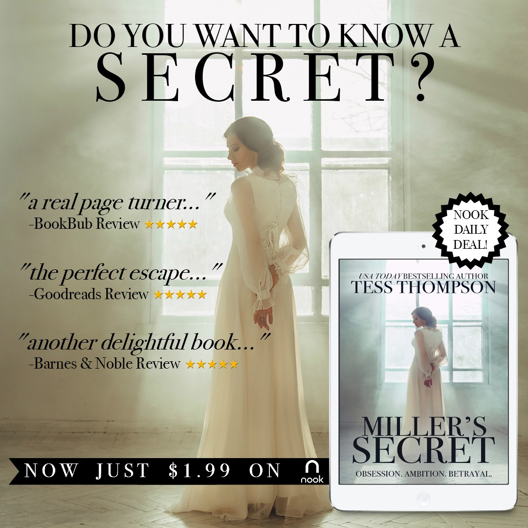 Miller's Secret by Tess Thompson