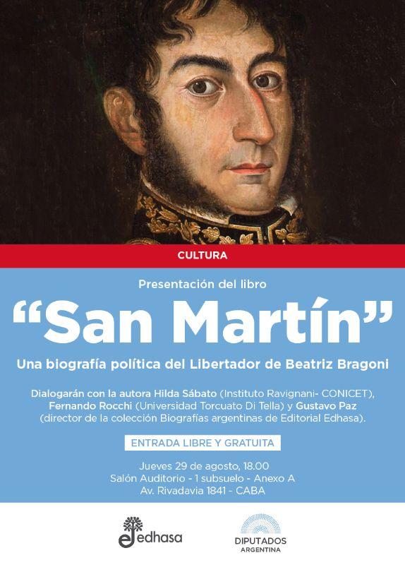 Presentación del libro San Martín