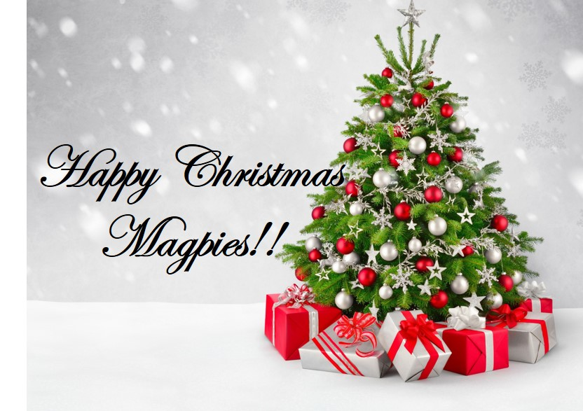 Happy Christmas Magpies!!