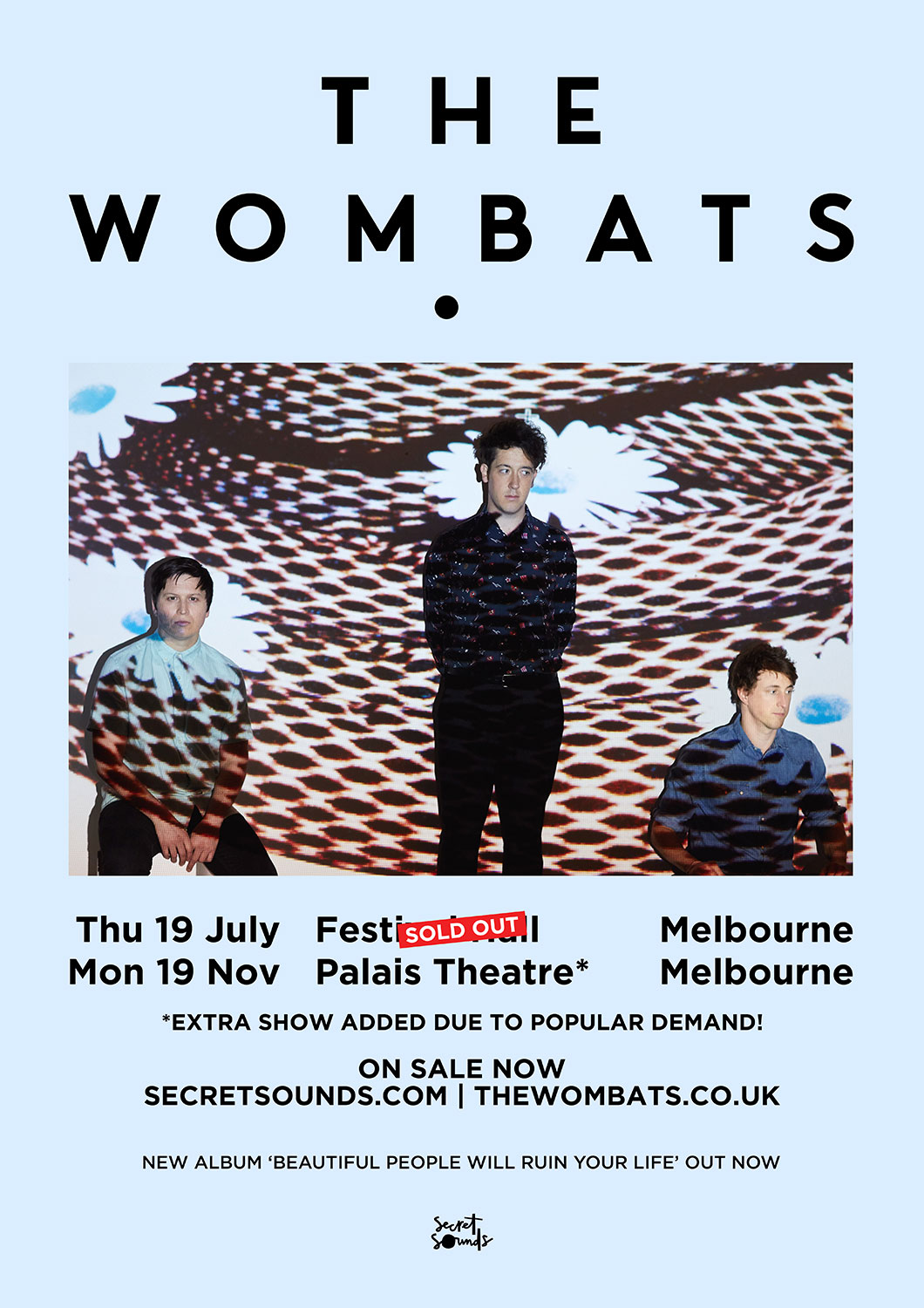 The Wombats Melbourne sideshow sold out + second Melbourne