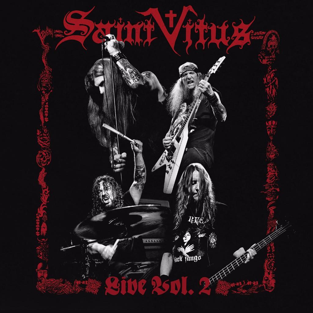 SAINT VITUS album cover
