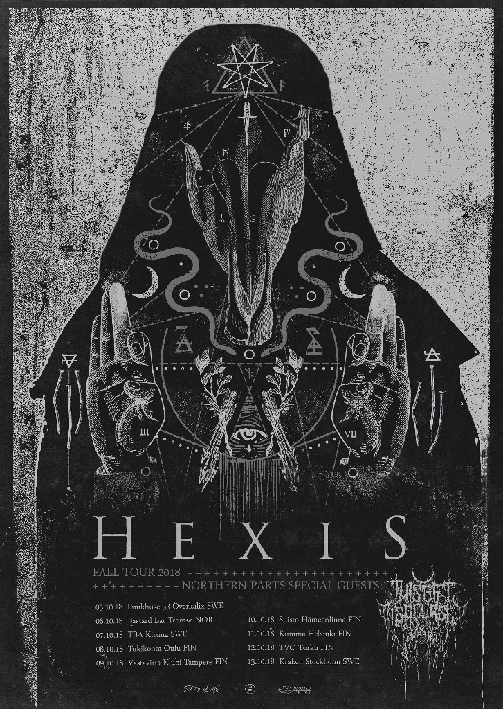 TGIAC Scandinavia Hexis tour 2018 flyer