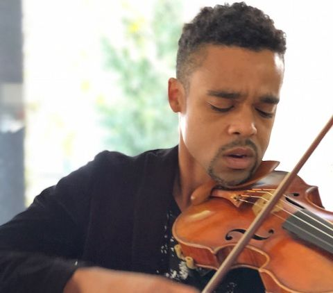 Gareth Johnson, violin