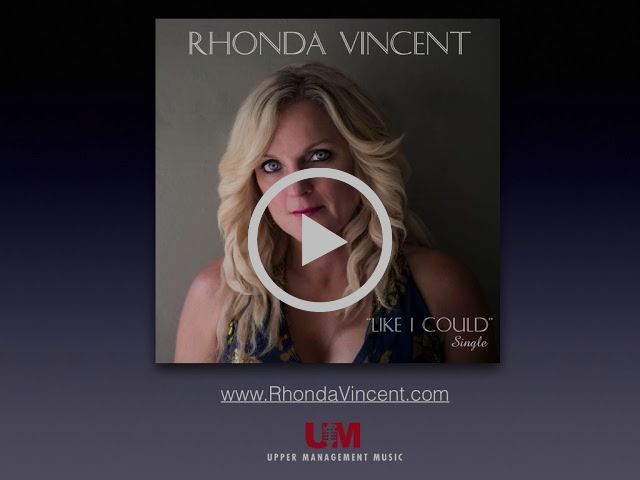 "Rhonda Vincent ""Like I Could"""