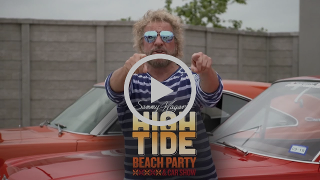 Sammy Hagar's High Tide Beach Party & Car Show
