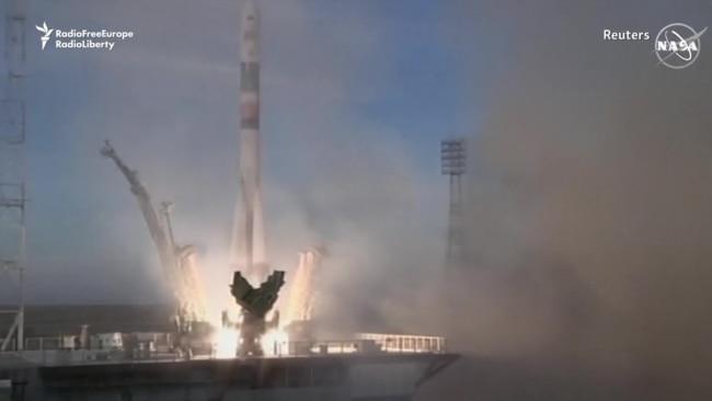 Soyuz Rocket Launch Succeeds After October Failure