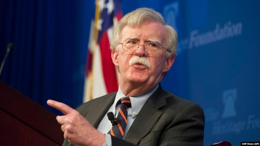 Cố văn An ninh Quốc gia John Bolton