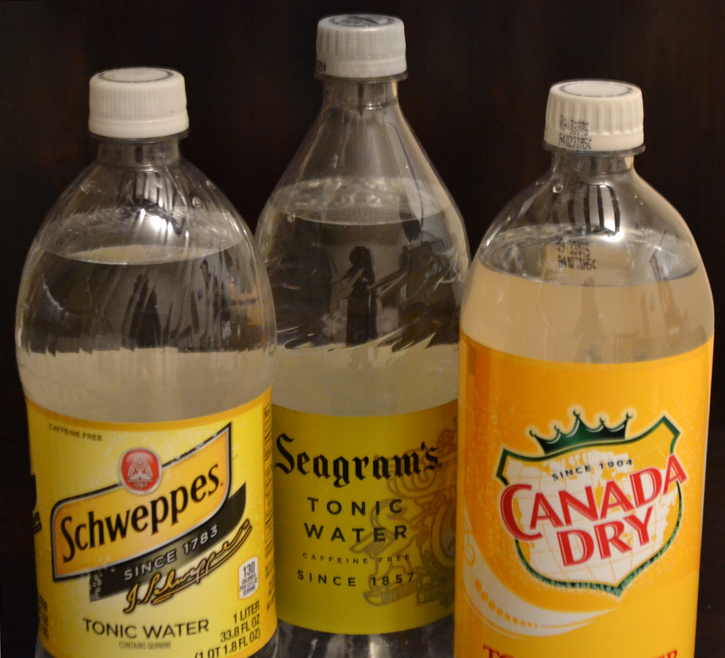 Seagram's reigns supreme in blind tonic water taste test | Gin and ...