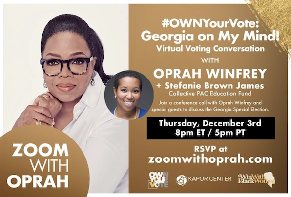 Zoom With Oprah