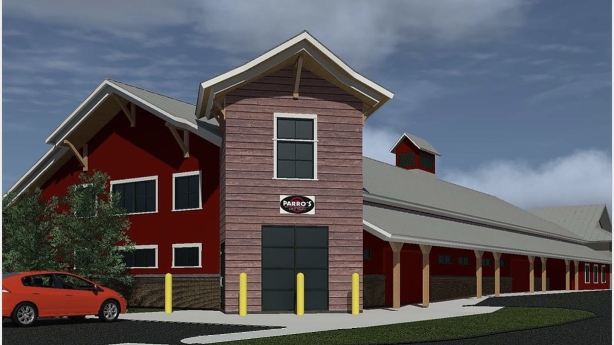 Artist's rendering of indoor gun range/Courtesy: Parro's Gun Shop & Police Supplies Inc.