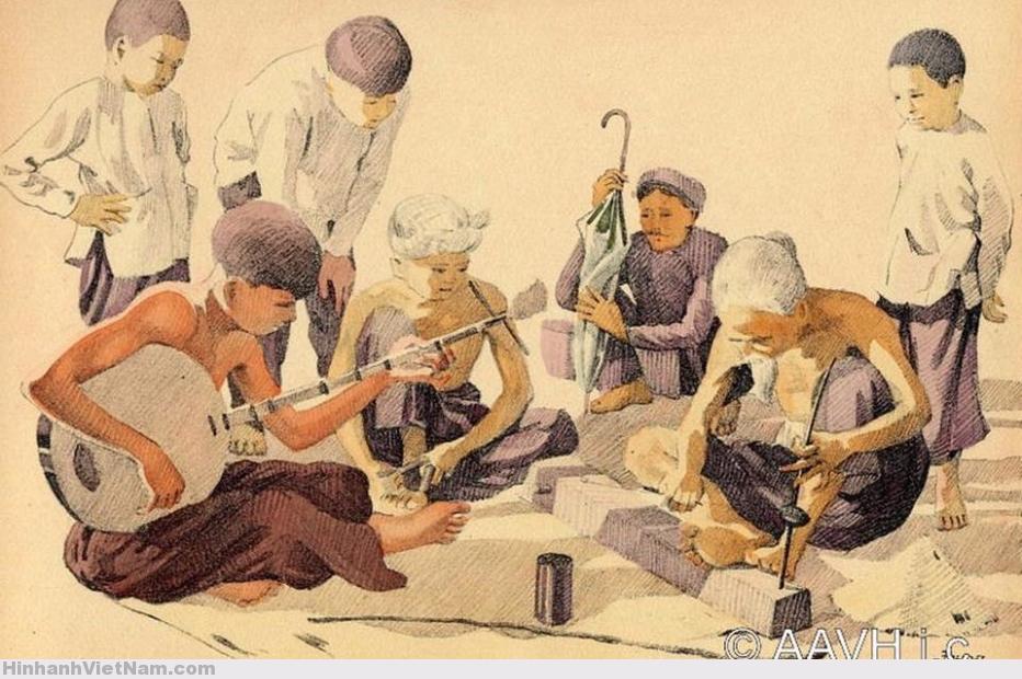 Nguyệt San VIỆT-NAM: Ký Hoạ 1935: Cuộc Sống Người Miền Nam Xưa