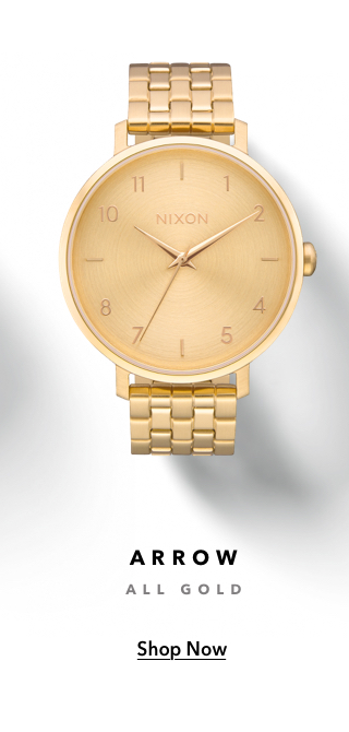 Arrow Watch All Gold, Shop Now