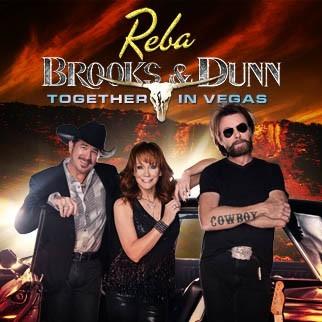 Image result for reba brooks & dunn together in vegas 2018