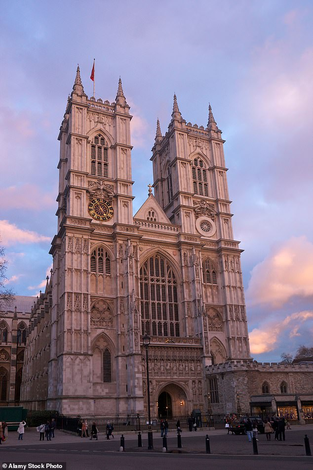The bells will ring out this evening at Westminster Abbey in central London, which bears a resemblance to Notre Dame with its twin towers at one end