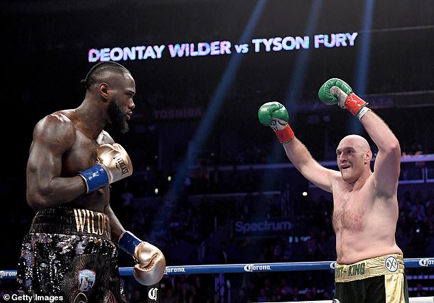 Joshua offered to get into the ring with Fury ahead of his expected rematch vs Deontay Wilder