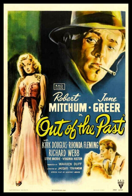 Out of the Past FRIDGE MAGNET 6x8 Robert Mitchum Film Noir Movie Poster Print