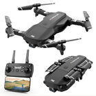 Quadcopter Drone 1080P 4K Dual HD Camera With WIFI FPV Camera Hold Foldable Set