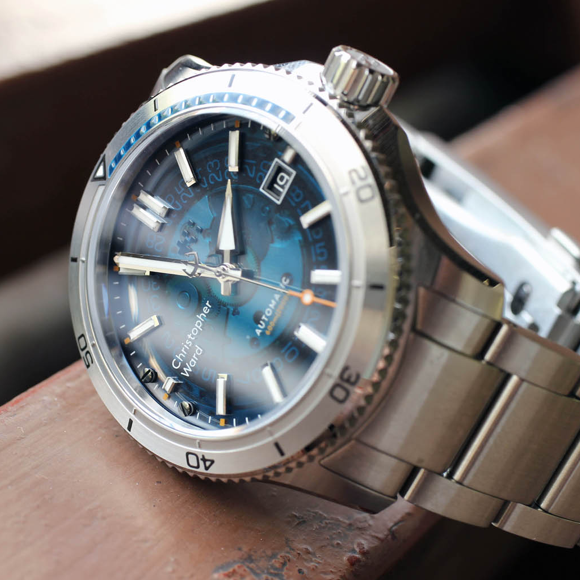 C60 Sapphire - Two watches in one