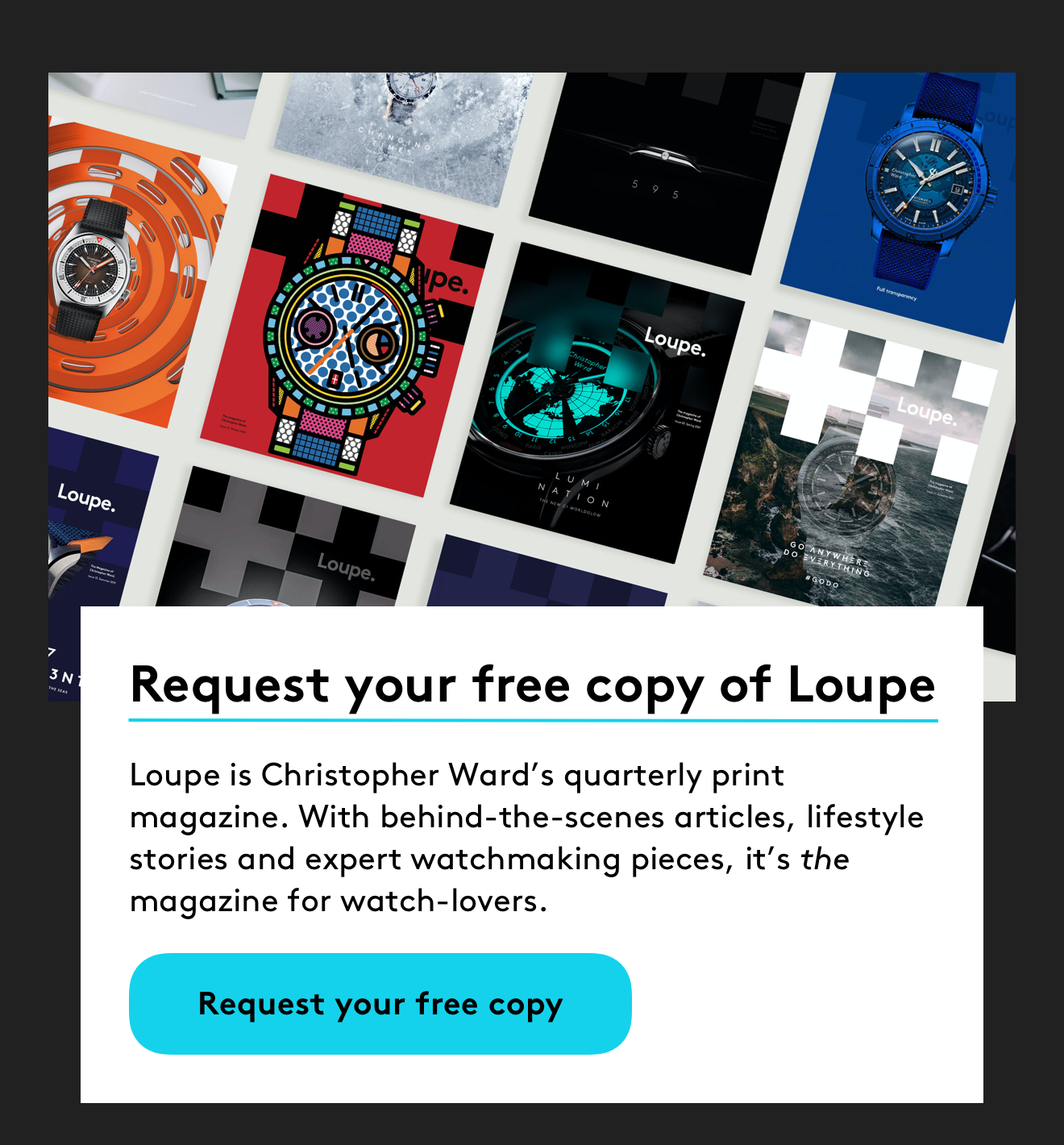 Request your free copy of Loupe
