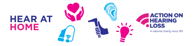 Action on Hearing Loss banner
