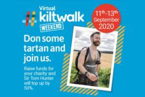 Virtual Kiltwalk logo