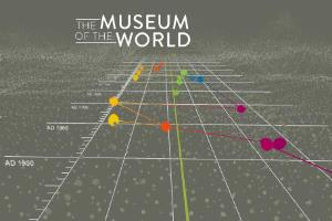 'The Museum of the world' logo