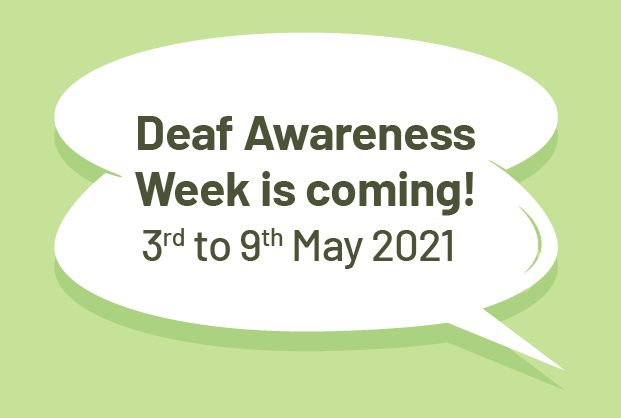 Deaf Awareness Week banner