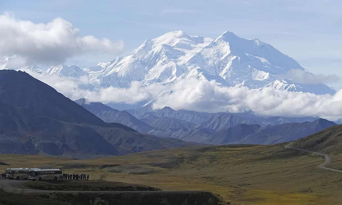 The individuals were stuck on Denali, the highest peak in North Amercia.