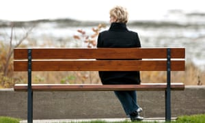Image result for picture of a person sitting on park bench looking off in the distance