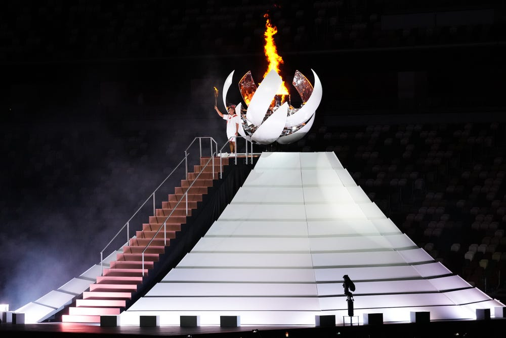 PHOTOS: Past Olympics Opening Ceremonies Vs Tokyo Olympics Kickoff