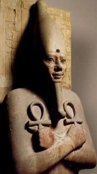 Ankh is an Egyptian hieroglyph that means