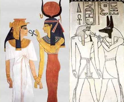 Ankh is an inspiration to create the symbolic symbol of the Greek Venus