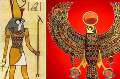 Horus's eyes represent protection against evil and bring wisdom and wisdom.