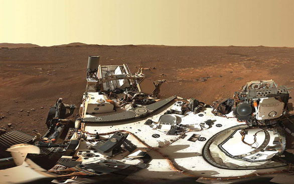 Bức ảnh toàn cảnh (panorama) bề mặt sao Hỏa