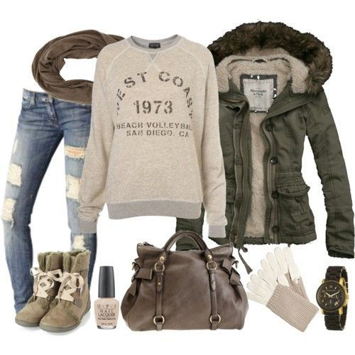 All of it~ but I especially adore the jacket. I want that to be my next winter coat.
