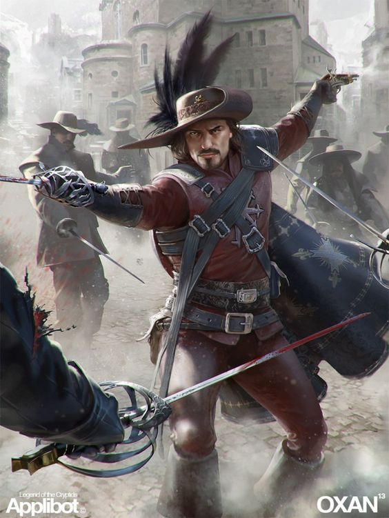Now that's a musketeer!  |  Oxan_Studios_Concept_Art_17