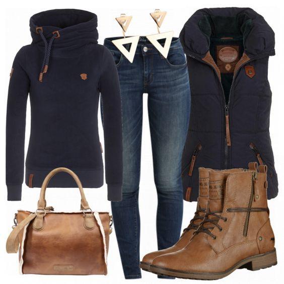 Freizeit Outfits: BlaueTraum bei FrauenOutfits.de