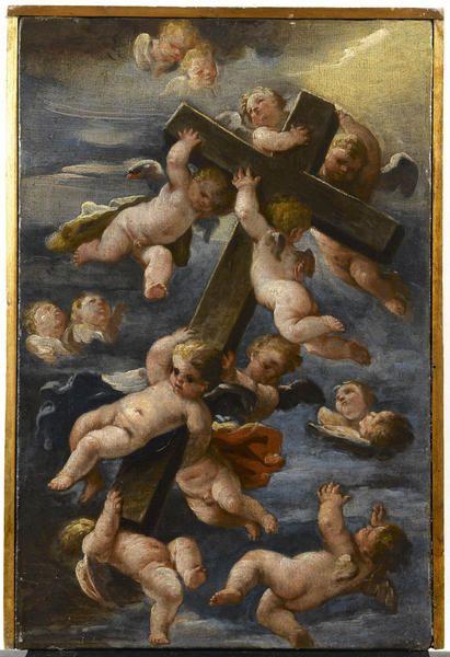 L'esaltazione della Croce di Luigi Garzi/ dipinti del XVII secolo / collezioni / fesch - Museo Museo Fesch