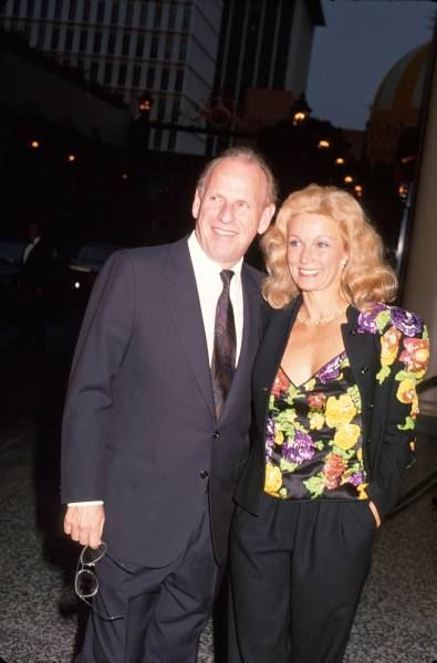 Yvette Mimieux and Howard F. Ruby