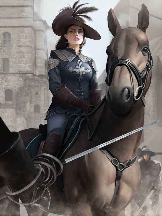 Valentine D'Artagnan by GoveRtZ on DeviantArt