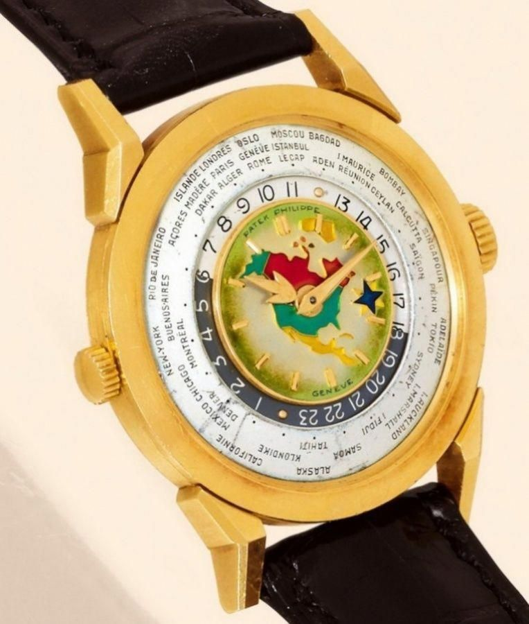Patek-Philippe-1953-Model-2523-Heures-Universelles-Watch Top 10 Most  Expensive Watches for Men in the … | Mens watches expensive, Expensive  watches, Watches for men