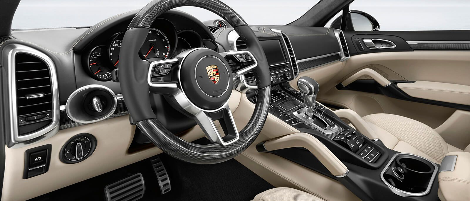 Image result for Porsche Cayenne Turbo interior hd photos