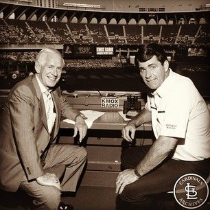 Jack Buck and Mike Shannon | St louis cardinals baseball, St louis ...