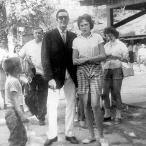 Image result for picture of buddy holly with girl at buck lake