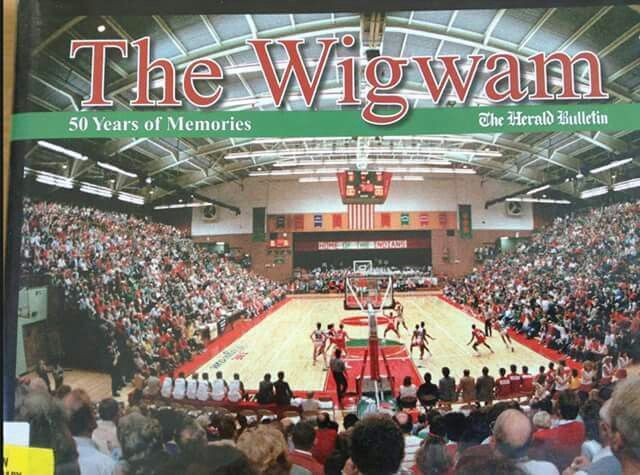 Image result for picture of anderson high school gym the wigwam and the crowd