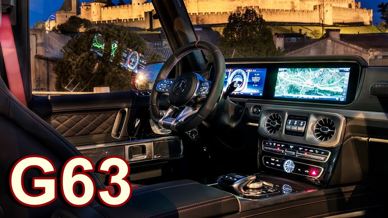 Image result for Mercedes-AMG G63 interior hd photos