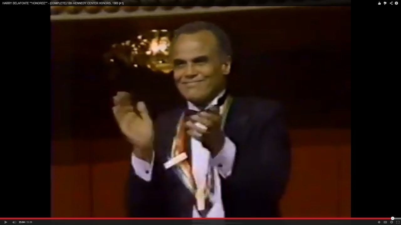 Image result for harry belafonte kennedy center honors
