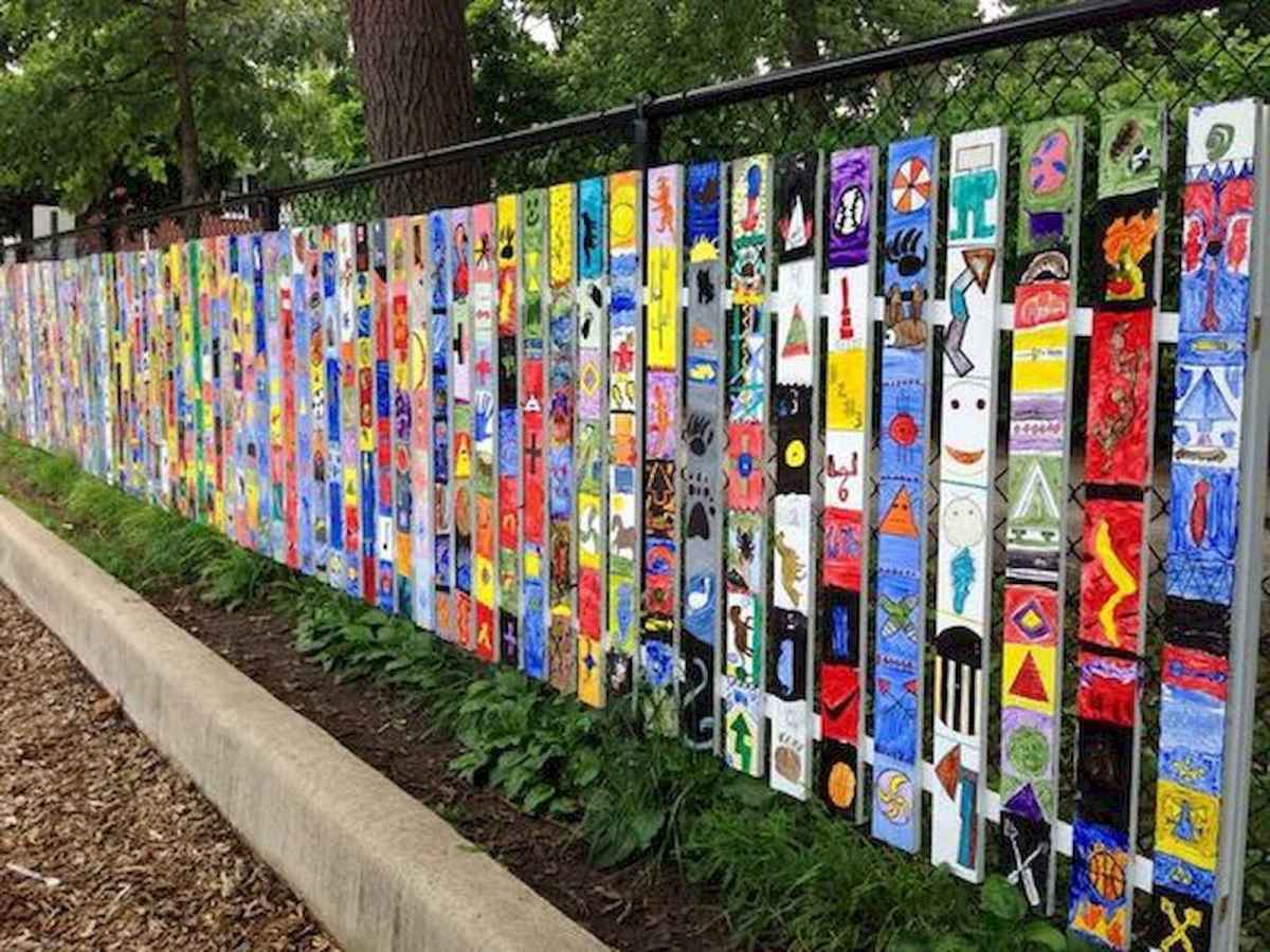 60 Gorgeous DIY Projects Pallet Fence Design Ideas (21)